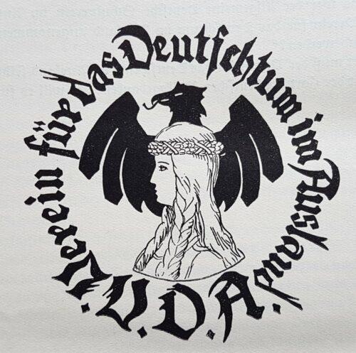 Logo des VDA, 1930