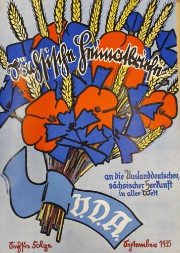 """Titelblatt """"Sächsische Heimatbriefe"""""""
