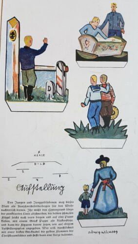 Ausschneidebogen der Sächsische Heimatbriefe, 1935